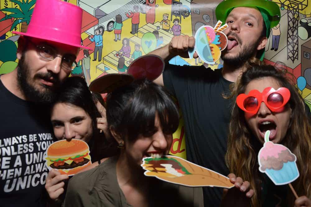 Thessaloniki food festival photobooth
